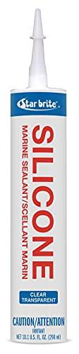 Star brite Marine Silicone Sealant Clear 10.3 oz