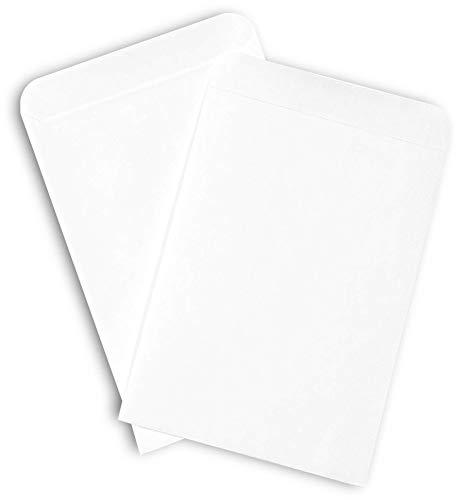 """Guardian Self-Sealing Seed Envelope, 3-1/4"""" x 4-1/2"""", White, 100/Pack"""