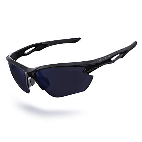 Sports Sunglasses Polarized for Men Women Cycling Running Fishing Driving Glasses UV Protection