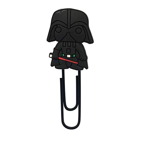 YITEJIA draagbare en prachtige 8 stuks / Lot Star Wars Cartoon Action Figure bladwijzer voor jongens PVC paperclips Page Holder School Office briefpapier Party Gift