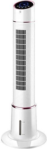 HYISHION Inicio deshojado del Ventilador del Aire Acondicionado Ventilador de bancada Abanico Vertical con Ventilador de Ahorro de energía de Control Remoto del hogar de refrigeración SKYJIE