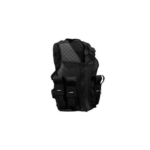 JT Tactical Paintball Vest, Black