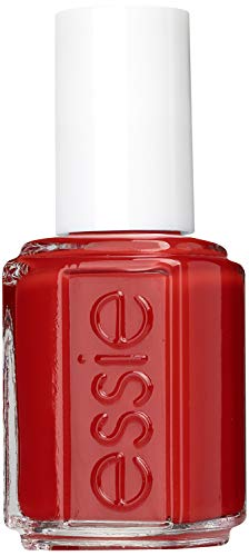 essie Nagellack Gel Effekt Ultra-Intensives Rot ohne UV lacquered up Nr. 62 / Ultra deckender Farblack in cremigem Hellrot 1 x 13,5 ml