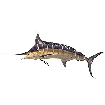 Next Innovations Marlin 3D Metal Wall Art Fish Wall Décor Large
