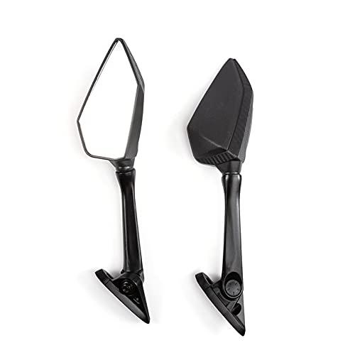 XIAOPING Espejos de motocicleta Moto Scooter lado vista trasera espejo retrovisor ajuste para yamaha YZF R3 R25 2013-2018 2014 2015 2016 2017 2017