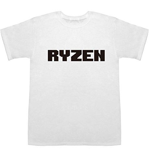 RYZEN ティーシャツ ホワイト S【ryzen 5 2400g】【ryzen 3 2200g】