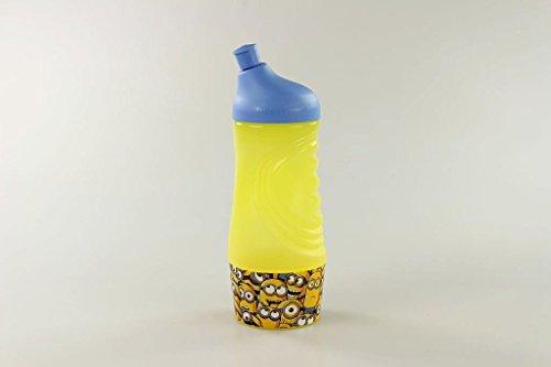 TUPPERWARE Sportfreund klein 415 ml gelb/blau Minions C93 Sportflasche Trinkflasche