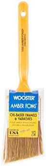 Wooster Amber Sacramento Mall Fong 2 in. Brush Angle Paint W Popular overseas