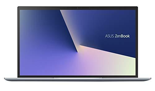 ASUS Zenbook 14 UX431FL-AN068T, Notebook in alluminio con Monitor 14  FHD Glossy, Intel Core i7-10510U, RAM 16GB, Grafica NVIDIA GeForce MX250, 512GB SSD PCIE, Windows 10 Home, Celeste Argento