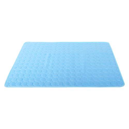 IEUUMLER Sommer Pad Zwinger Pad Pet Cooling Pad Breathable Kühlmatte Schlafmatte für Hunde Katzen IE091 (M, Blue)