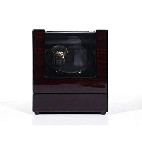 MxZas Watch Box Box Watch Shaker, Mano robótica, Transferencia automática de Relojes, Caja de enrollamiento, Pareja, Mesa Shaker Moda (Color: Negro) Jzx-n (Color : Black)
