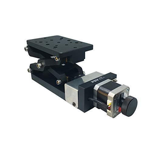 Motorizado Lab Tijeras Jack, 120mm X 80mm Eje Z Lab Jack Microscopio...