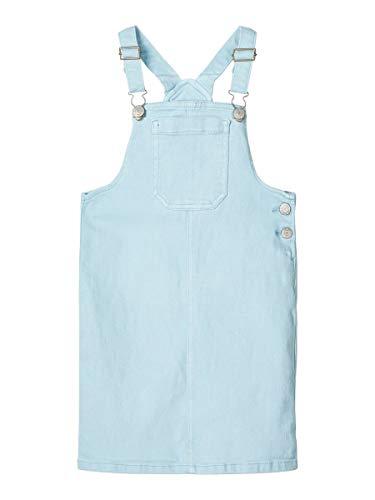 NAME IT Girl Pinafore-Kleid Twillweb 128Dream Blue
