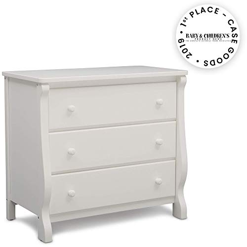 Read About Delta Children Universal 3 Drawer Dresser, White