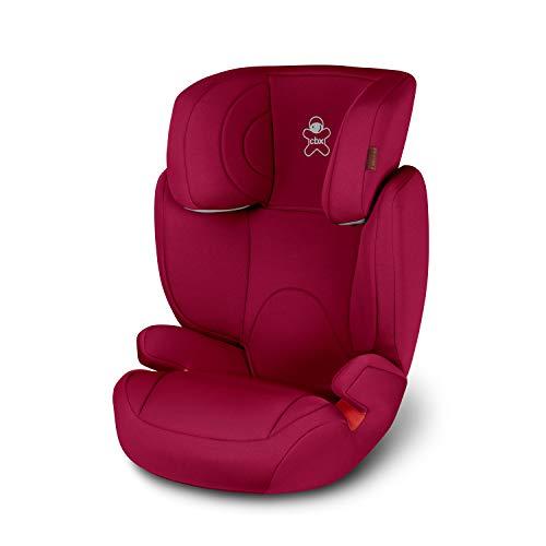 cbx Kinder-Autositz Solution 2, Gruppe 2/3 (15-36 kg), Ab ca. 3 bis ca. 12 Jahre, Ohne ISOFIX, Crunchy Red