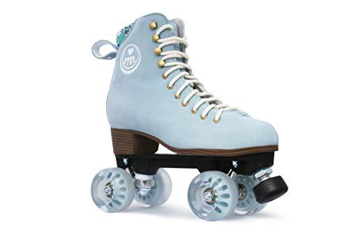 BTFL Trends- Rollschuhe Romy, für Damen, Mädchen, Discoroller, Rollerskates,Blau,EU: 41