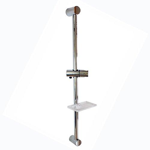 SANIXA JL14MOON Barre de douche réglable et support de douche télescopique en laiton/ABS