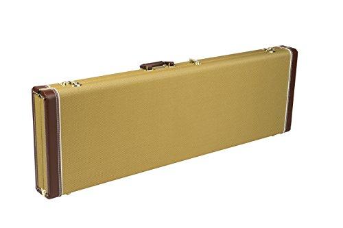 Fender ハードケース Fender® Pro Series Precision Bass®/Jazz Bass® Case - Tweed with Orange Plush Int...