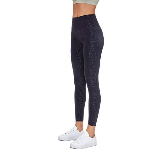 QTJY Leggings de Entrenamiento de Fitness geométricos de Leopardo de Camuflaje clásico para Mujer, Leggings Deportivos de Gimnasio Pantalones de Yoga AL