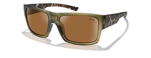 Zeal Optics Ridgway Unisex-Erwachsene Einheitsgröße Matt Khaki/Polarized Copper Lens