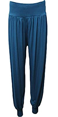 Style Fashion-womens Plain Hareem Trousers Ali Baba Baggy Leggings Pants Trouser from