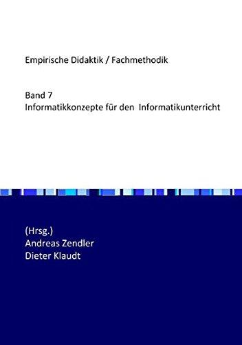 Informatikkonzepte für den Informatikunterricht
