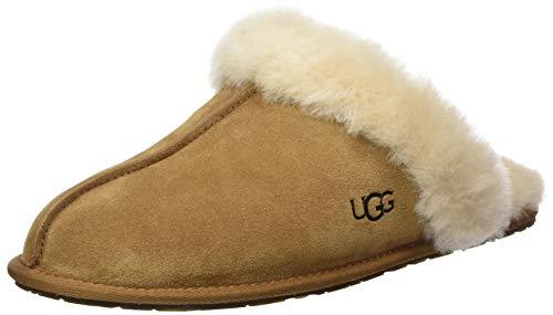 UGG Female Scuffette II Slipper, Chestnut, 6 (UK)