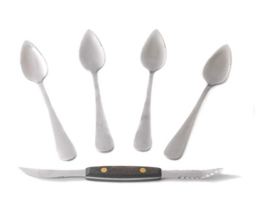Grapfruit Spoon and Knife Set