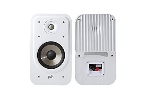 Polk Audio s20e Signature Polk Audio Signature S20S–Altavoces de estantería, Color Blanco Color Blanco