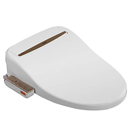 Risparmio energetico Bidet Elettrico Sedile WC Automatico,con sciacquone Automatico Domestico Ugello autopulente Asciugatura ad Aria Calda