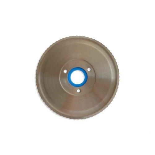 Wellenschliffmesser BLAU für die Ritter Multischneider E16, E17, E18, E19 E21, AES61S mit länglichem Schiebeschalter, AES SR/SL mit blauem Messerträger