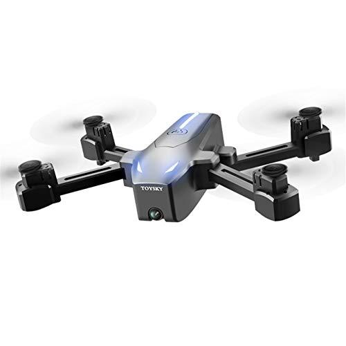 ASDZXC Le positionnement GPS Drone, 4k Photographie aérienne Pliage Quadcopter Longue Endurance Flux Optique Avions téléguidés à Hauteur Fixe Facile pour Les débutants