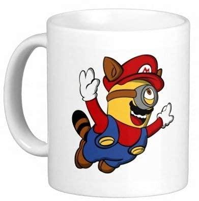 Super Mario Minions - Taza divertida de regalo de Minion de Despicable Me