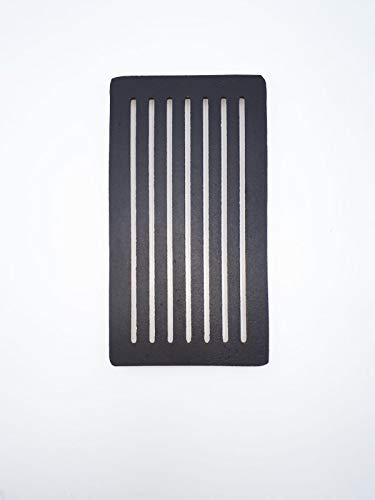 Griglia in ghisa ORIGINALE PALAZZETTI 30X16 cm COD. 892600011 per caminetti