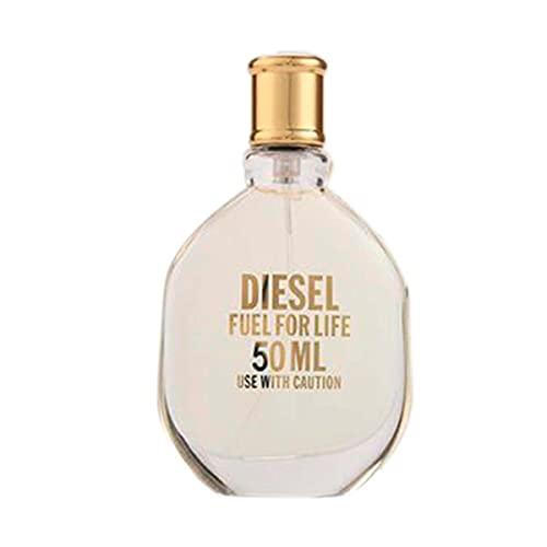 Diesel Diesel Fuel for Life, Agua de Perfume para Mujer en Vaporizador Spray, Fragancia Sensorial, 50 ml - kilograms