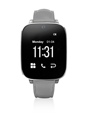 Unotec Smartwatch Bluetooth Watch-Bt5 grau