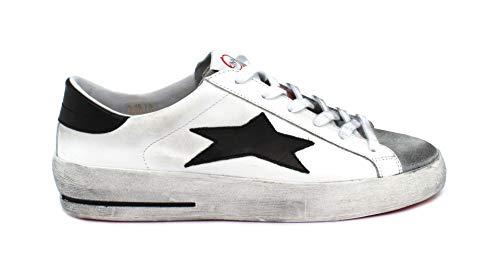 Ishikawa Sneaker Low Plus 1801 Taglia 40 - Colore Bianco/Nero