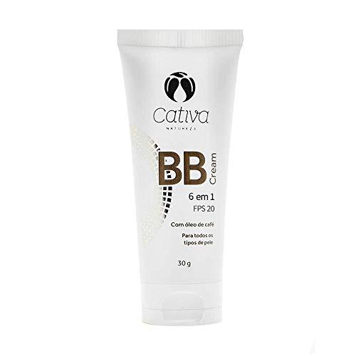 BB Cream 6 em 1 FPS 20 Multiuso Cor 2 Natural e Vegano 30g Cativa Natureza