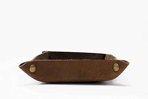 Northwind Supply Genuine Leather Valet Tray   Desk...