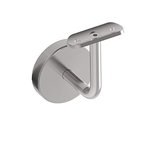 Handlauftr/äger Handlaufhalter Handlauf Wandhalter f/ür /Ø42,4x2,0 variabel Gel/änder 72231