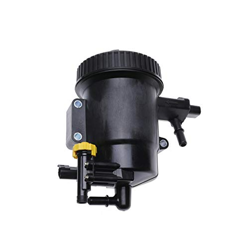 iFJF 68157290AB Fuel Filter Assembly Replacement for Ram 2500 3500 4500 5500 2013-2018 6.7L L6 Turbo Diesel Engine with 5 Micron Element and Filter Cap Replaces 68157290AA
