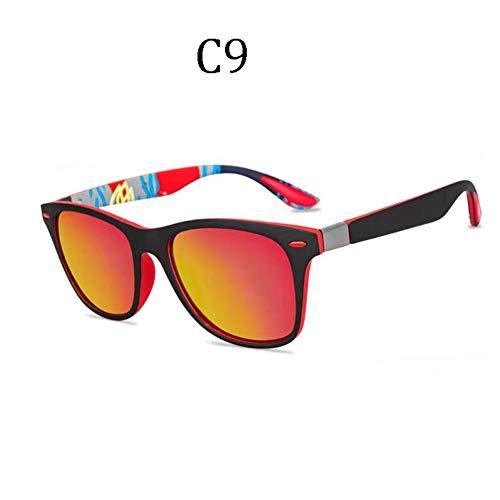 Waniii Clásico Hombres Mujeres Gafas De Sol Polarizadas Rosa Uv400 Viaje Mujer Gafas De Sol Hombre