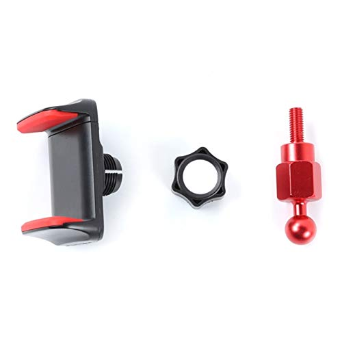 Fpzhong Soporte de teléfono Multifuncional Ajuste para Suzuki Fit para Jimny 2019 2020 Teléfono y Walkie Talkie Soporte (Color : Black)