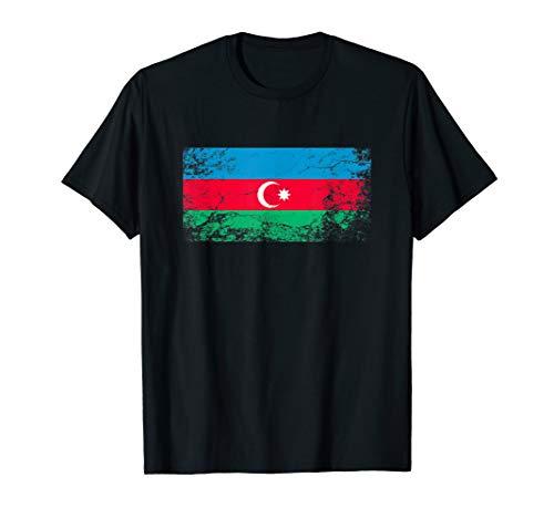 Aserbaidschan Flagge tshirt für Männer Frauen und Kinder T-Shirt