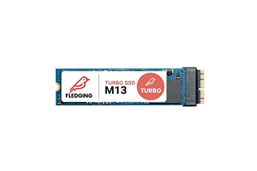 Fledging Feather M13 Turbo – El mejor discos duros SSD para Apple MacBook Pro de 512GB