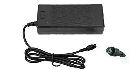 Cargador de batería 42V Adaptador de Corriente para Mini Smart Scooter Adaptador Universal de Cargador de batería Compatible con Hoverboard,Swagtron (Scooter)