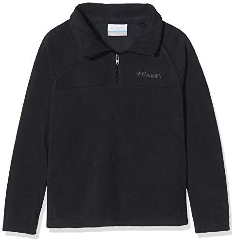 Columbia Jungen Glacial Half Zip Sportbekleidung Fleece, Schwarz, M