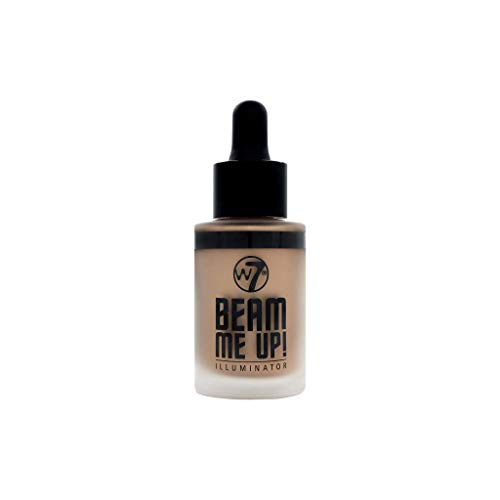 W7 | Highlighter | Beam Me Up! Illuminator - Dynamite | Highly Pigmented | Perfect For All Skin Types