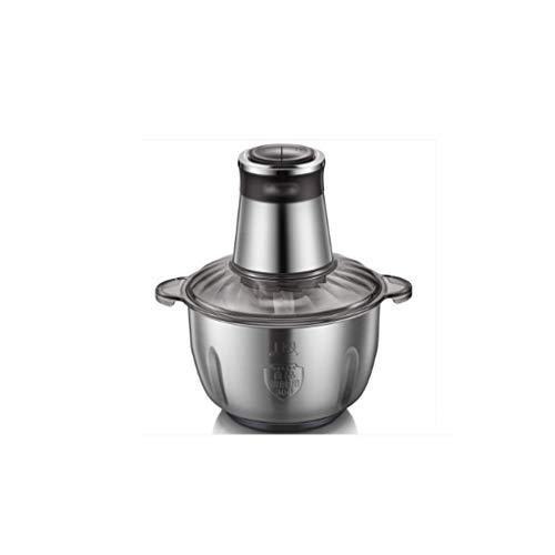 YWSZJ Eléctrica máquina de picar alimentos, Robot de cocina con revestimiento de titanio y acero inoxidable Cuchillas Bowl, velocidad Cocina máquina de picar carne Picadora de Queso Fruta Frutos secos