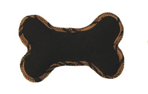 Outward Hound Kyjen Plush Puppies Eco Hemp Jr. Bone Dog Toy